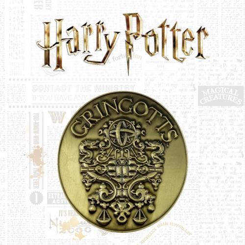 HARRY POTTER - Banque de Gringotts - Médaillon édition limitée