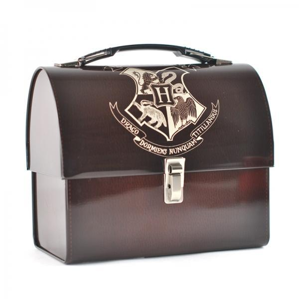 HARRY POTTER - Tin Tote - Hogwarts Crest