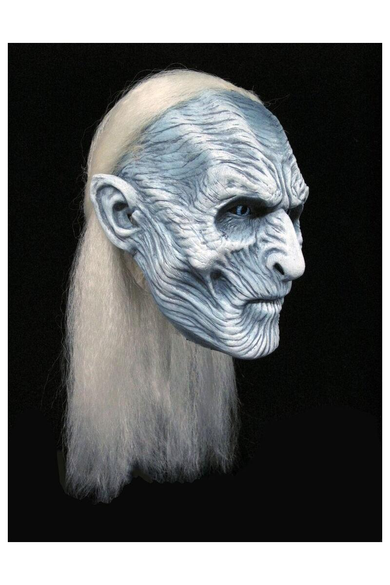 GAME OF THRONES - Réplique 1/1 Masque Latex White Walker_1
