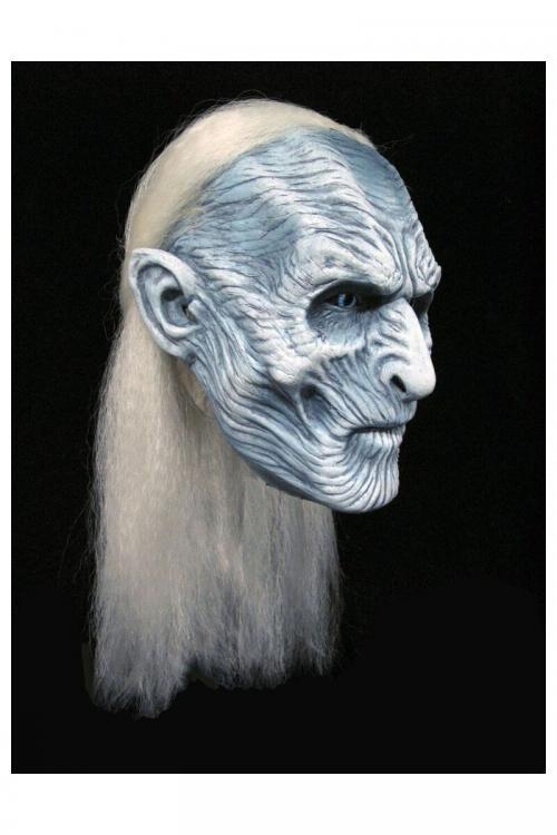GAME OF THRONES - Réplique 1/1 Masque Latex White Walker