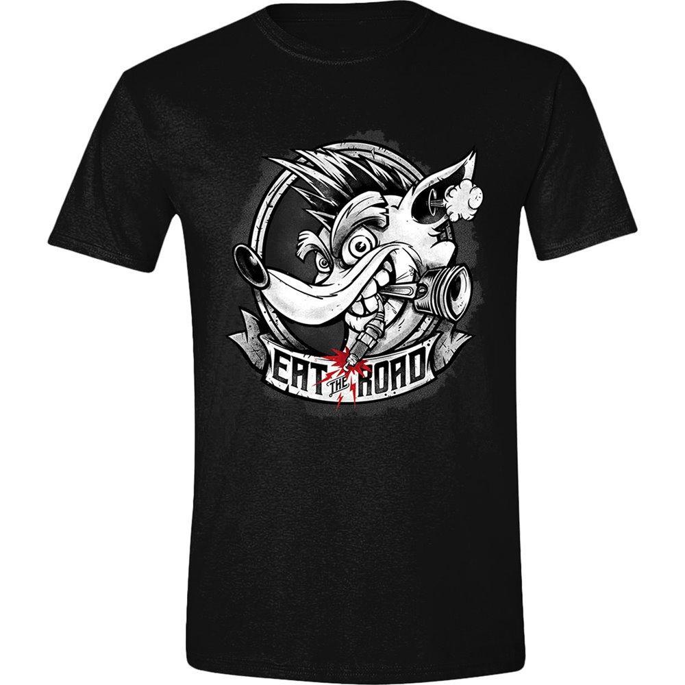 CRASH TEAM RICING - T-Shirt - Eat the Road (M)