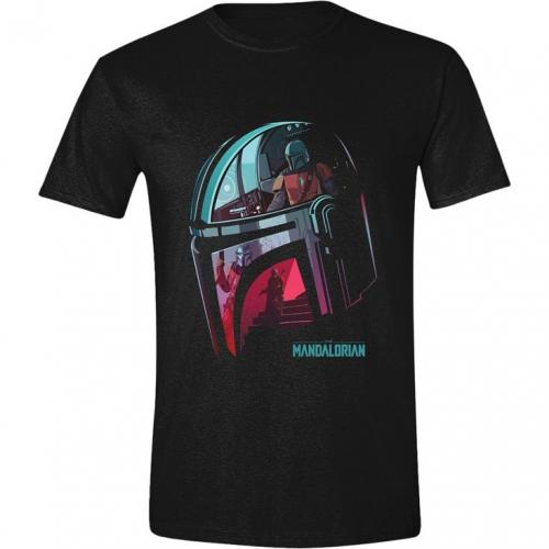 THE MANDALORIAN - T-Shirt homme - Reflection - (S)