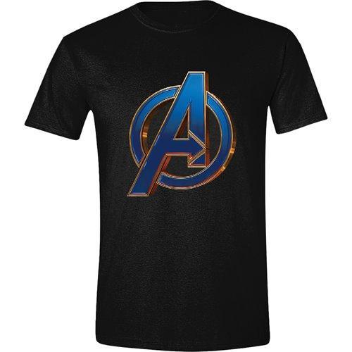 AVENGERS ENDGAME - T-Shirt Heroic Logo (S)
