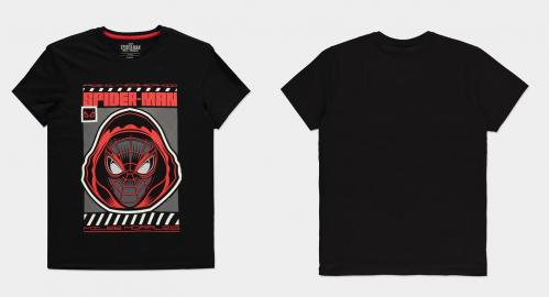 SPIDER-MAN MILES MORALES - Miles Hood - T-Shirt Homme (S)