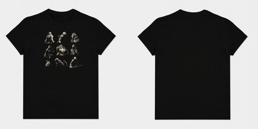 DEMON'S SOULS - Knigh Poses - T-Shirt Homme (XL)_1