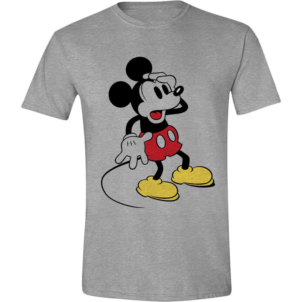 DISNEY - T-Shirt - Mickey Mouse Confusing Face (S)