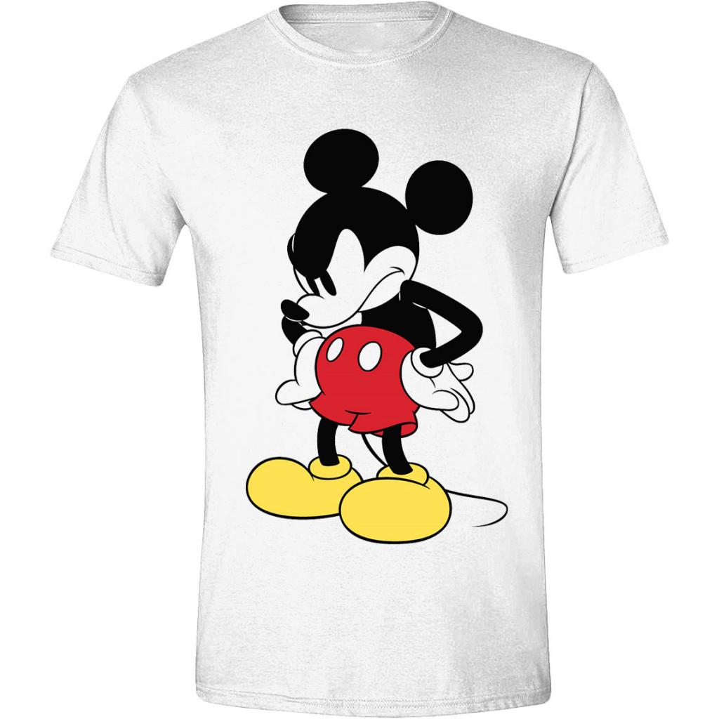 DISNEY - T-Shirt - Mickey Mouse Mad Face (S)