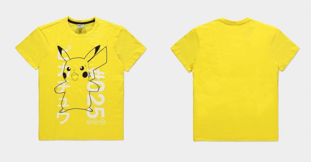 POKEMON - Shocked Pika - T-Shirt Homme (M)_1