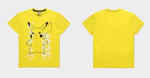 POKEMON - Shocked Pika - T-Shirt Homme (M)
