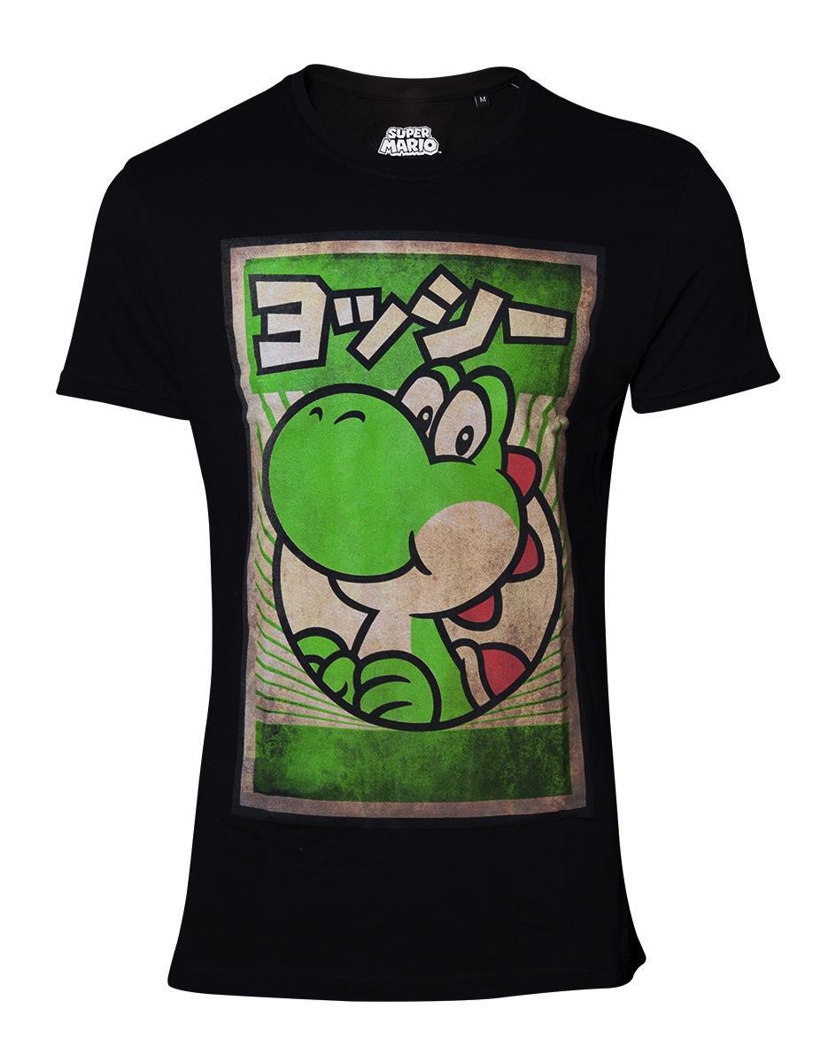 NINTENDO - T-Shirt - Propaganda Poster - Yoshi (L)