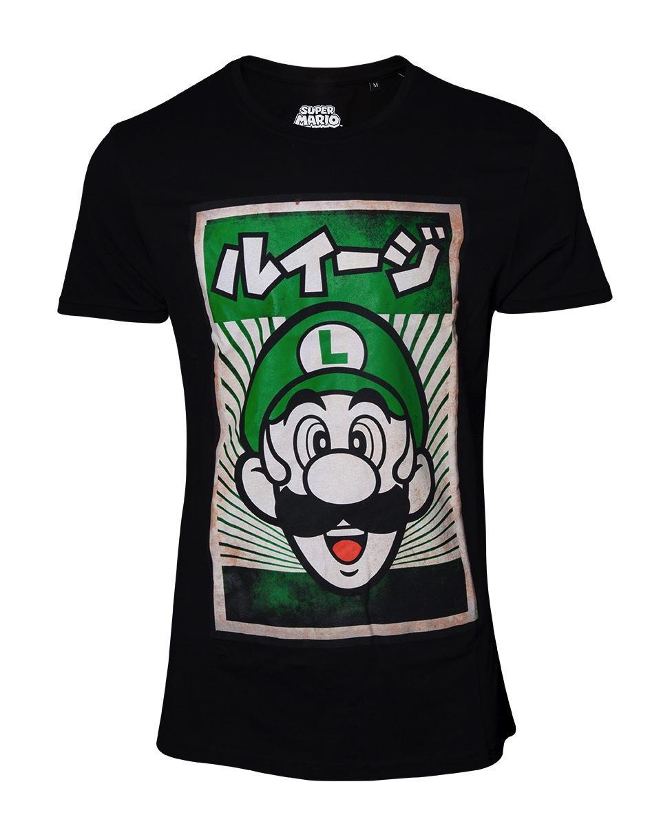 NINTENDO - T-Shirt - Propaganda Poster - Luigi (L)