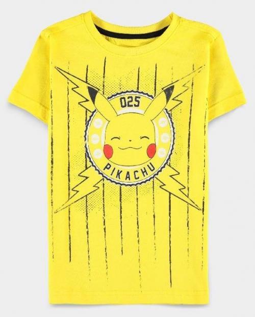 POKEMON - Funny Pika - T-Shirt garçon (98/104)