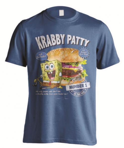 BOB L'EPONGE - T-Shirt homme - Krabby Patty - (S)