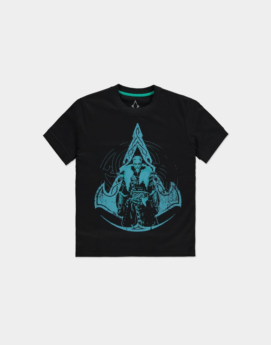 ASSASSIN'S CREED VALHALLA - Crest Grid - T-Shirt Femme (L)_1