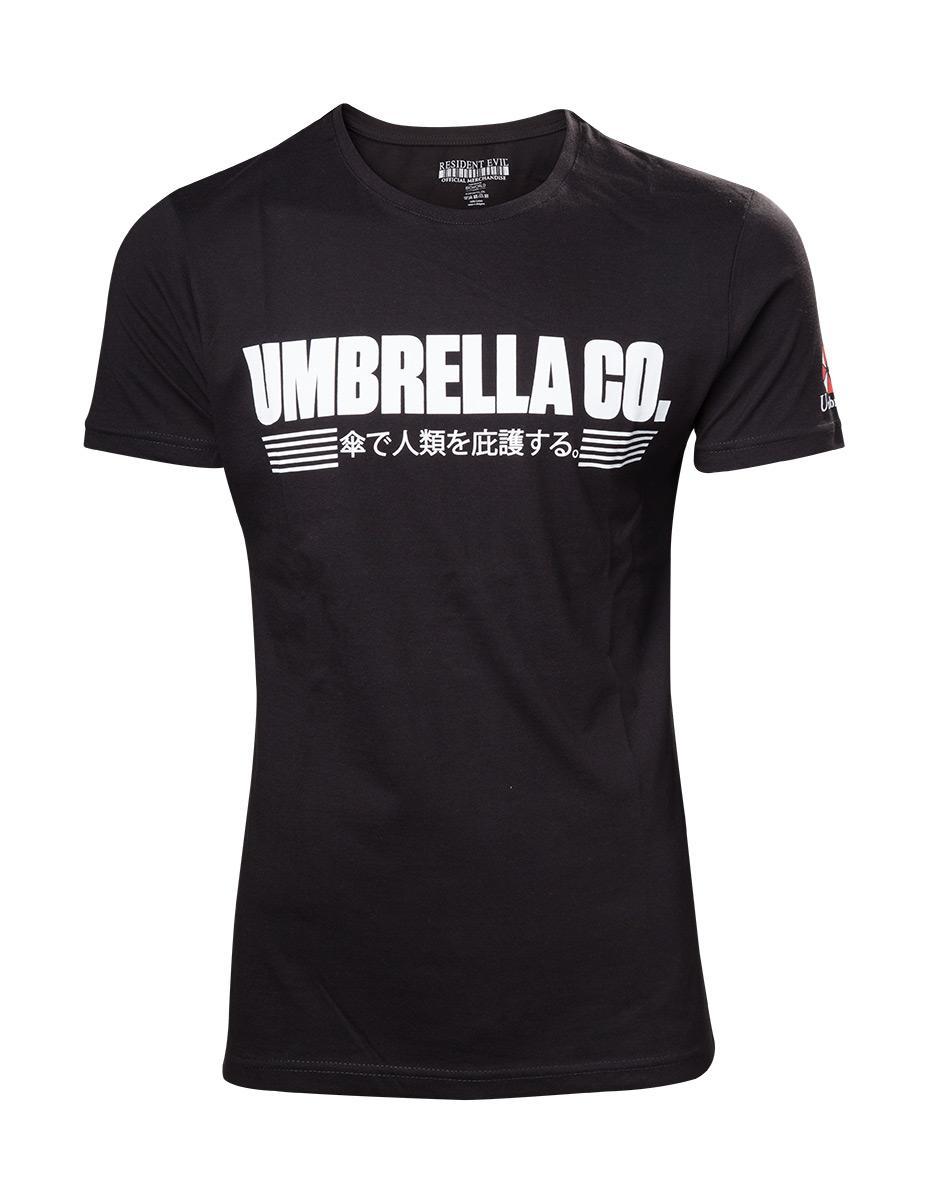 RESIDENT EVIL - T-Shirt Umbrella Company Japanese Logo (M)
