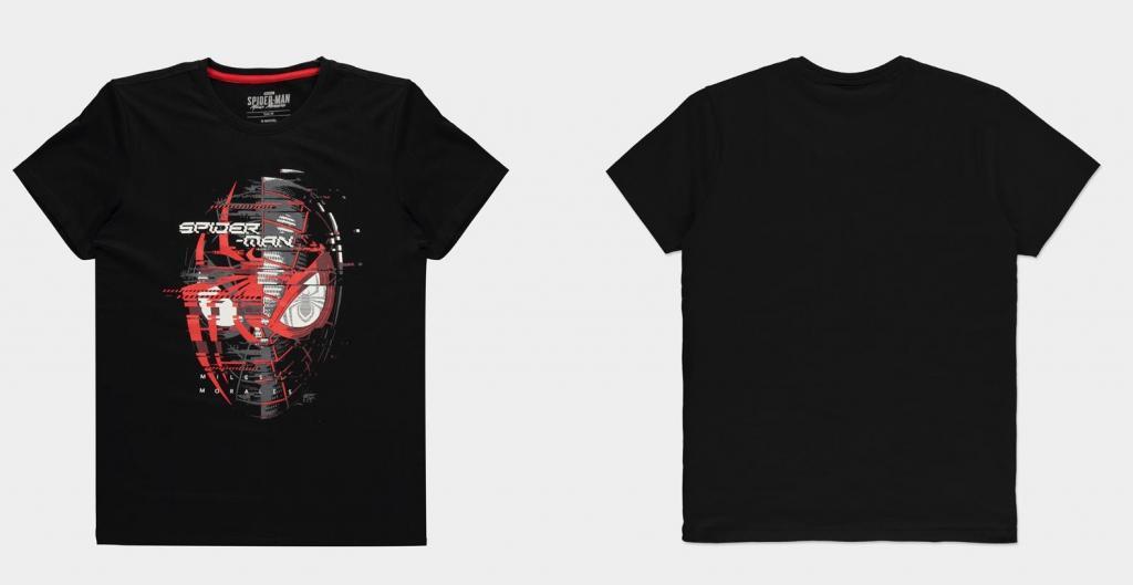 SPIDER-MAN MILES MORALES - Spider Head - T-Shirt Homme (S)_1
