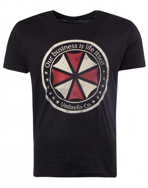 RESIDENT EVIL - Umbrella - T-Shirt Homme (XXL)