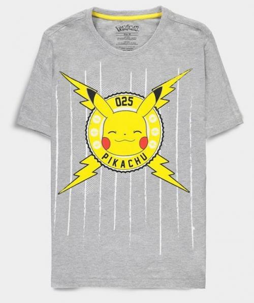 POKEMON - Funny Pika - T-Shirt Homme (L)