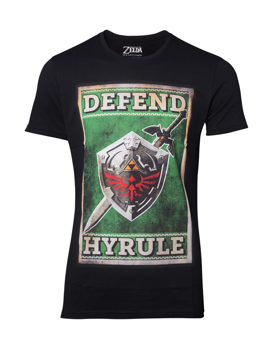 ZELDA - T-Shirt Propaganda Sword & Shield (S)