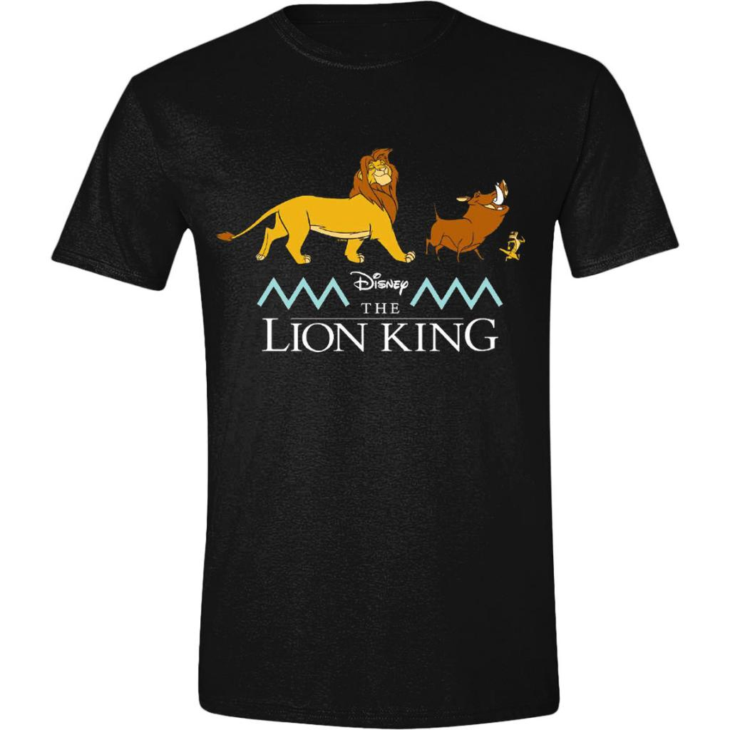 DISNEY - T-Shirt - Le Roi Lion : Logo and Characters (S)