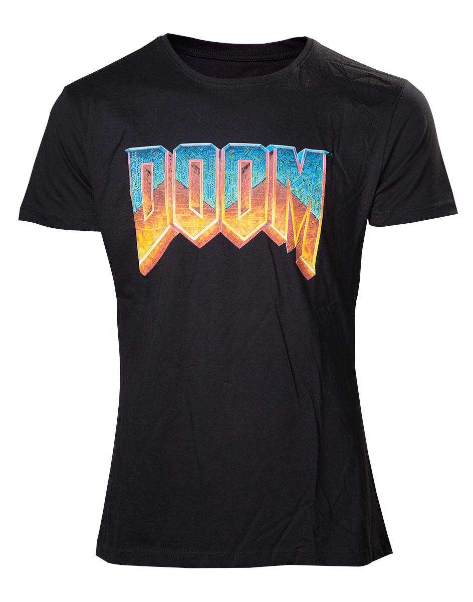 DOOM - T-Shirt Classic Logo (L)