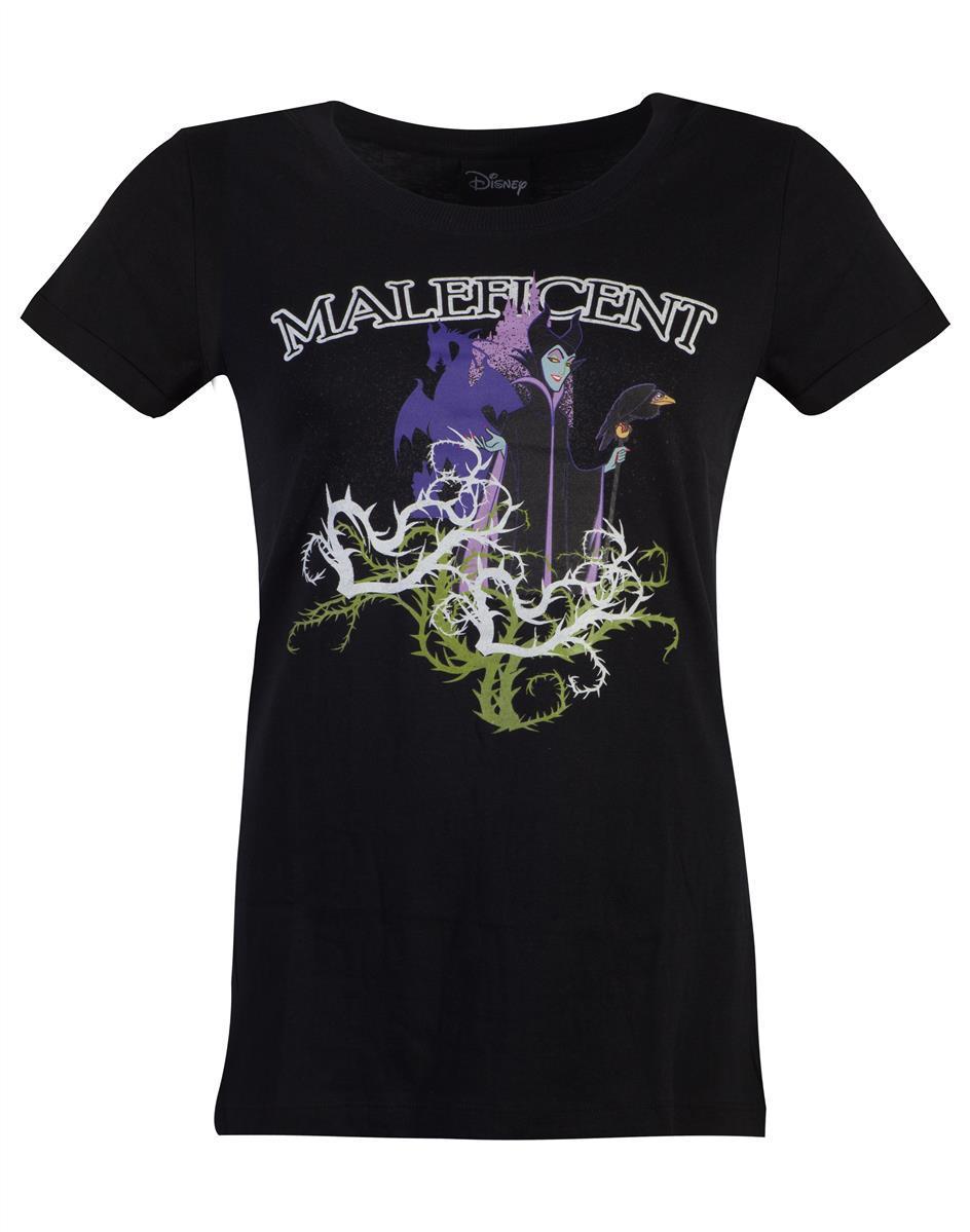 DISNEY - Maleficient - T-Shirt Femme (S)