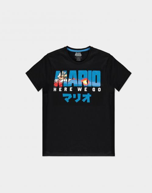 NINTENDO - Super Mario Fire Mario - T-Shirt Homme (S)