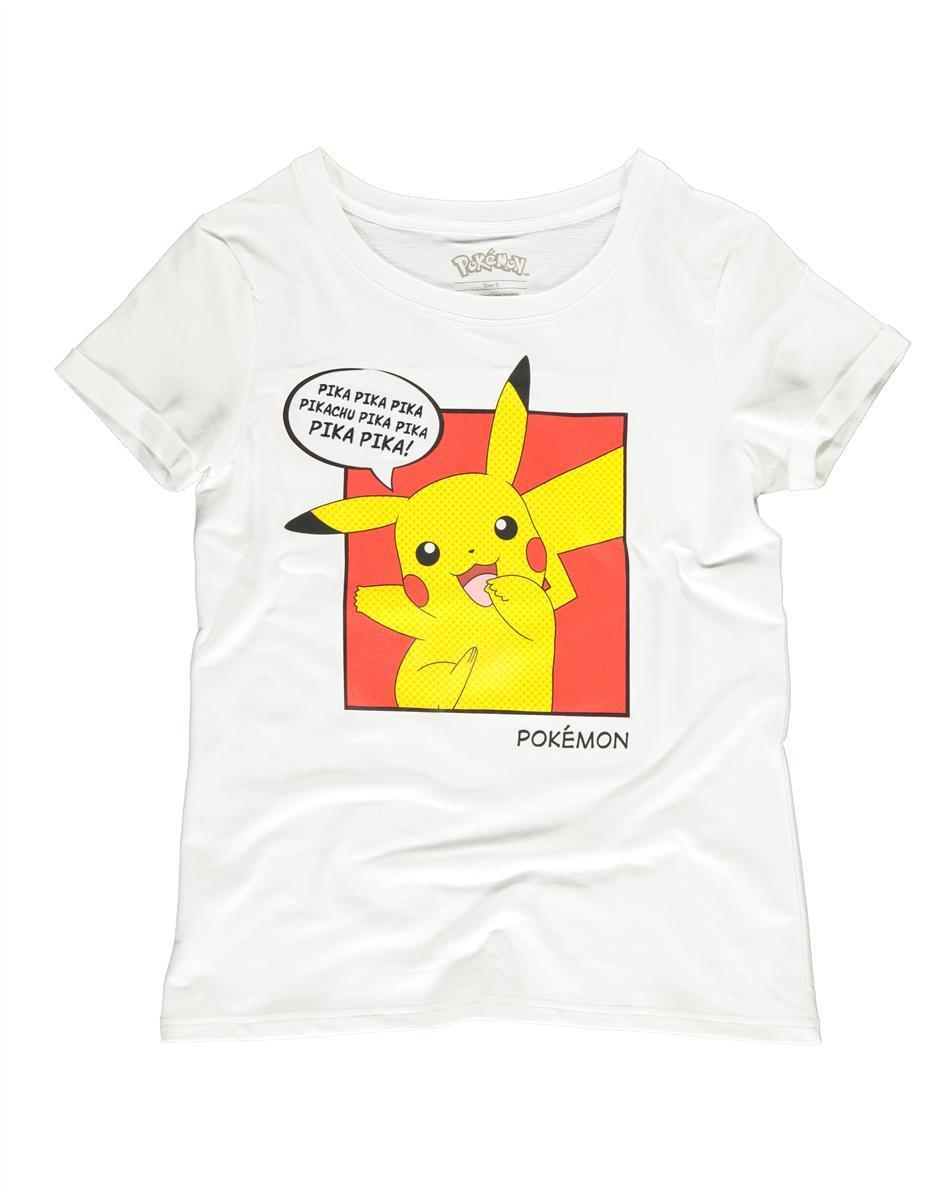 POKEMON - Pika Pika - T-Shirt Femme (S)_1