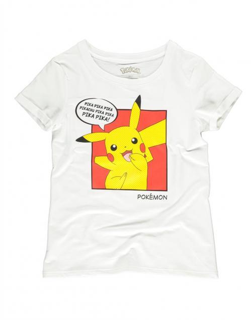 POKEMON - Pika Pika - T-Shirt Femme (S)