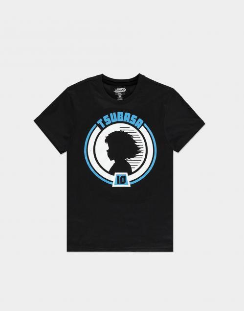 CAPTAIN TSUBASA - Tsubasa Badge - T-Shirt Homme (S)