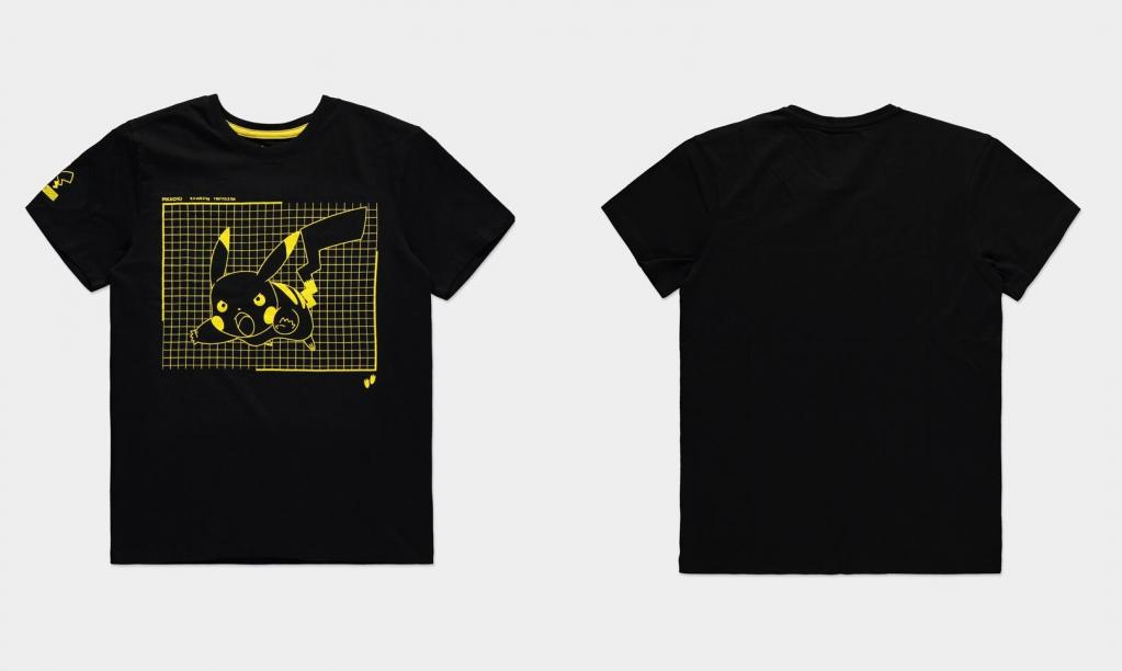 POKEMON - Attacking Pikachu - T-Shirt Homme (S)_1