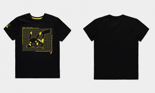 POKEMON - Attacking Pikachu - T-Shirt Homme (S)