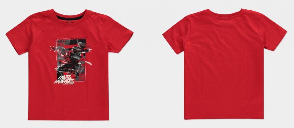 SPIDER-MAN MILES MORALES - Glitch Miles - T-Shirt Kids (98/104)_1