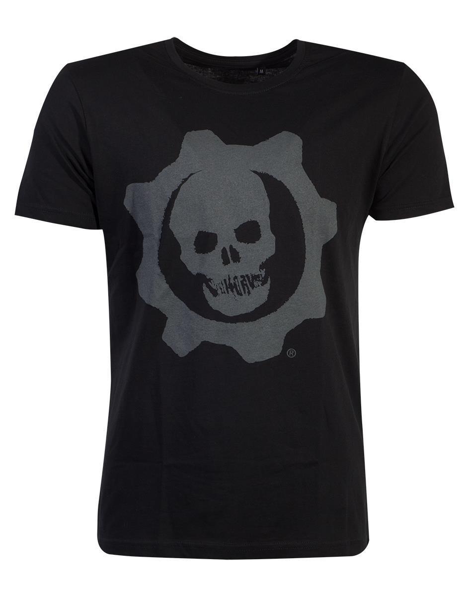 GEARS OF WAR - T-Shirt Homme Skull Badge (M)_1