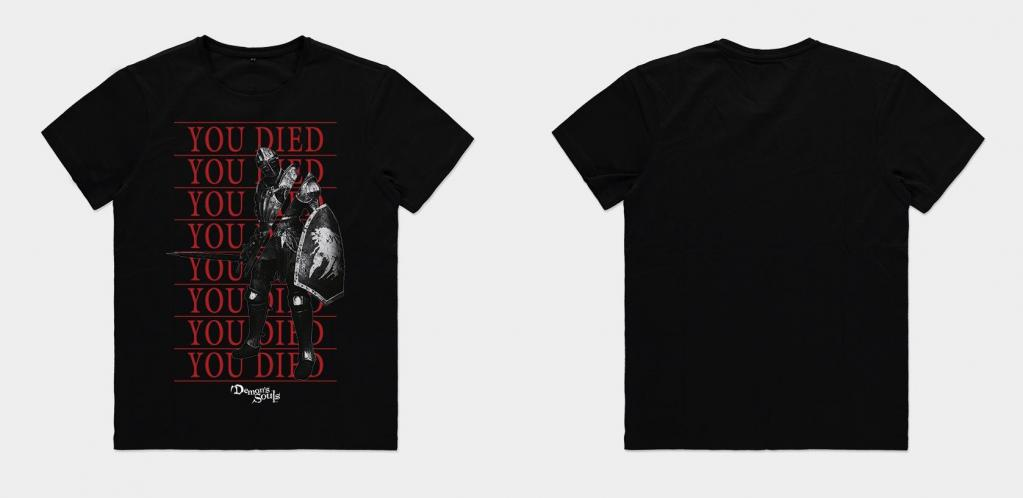 DEMON'S SOULS - You Died - T-Shirt Homme (M)_1