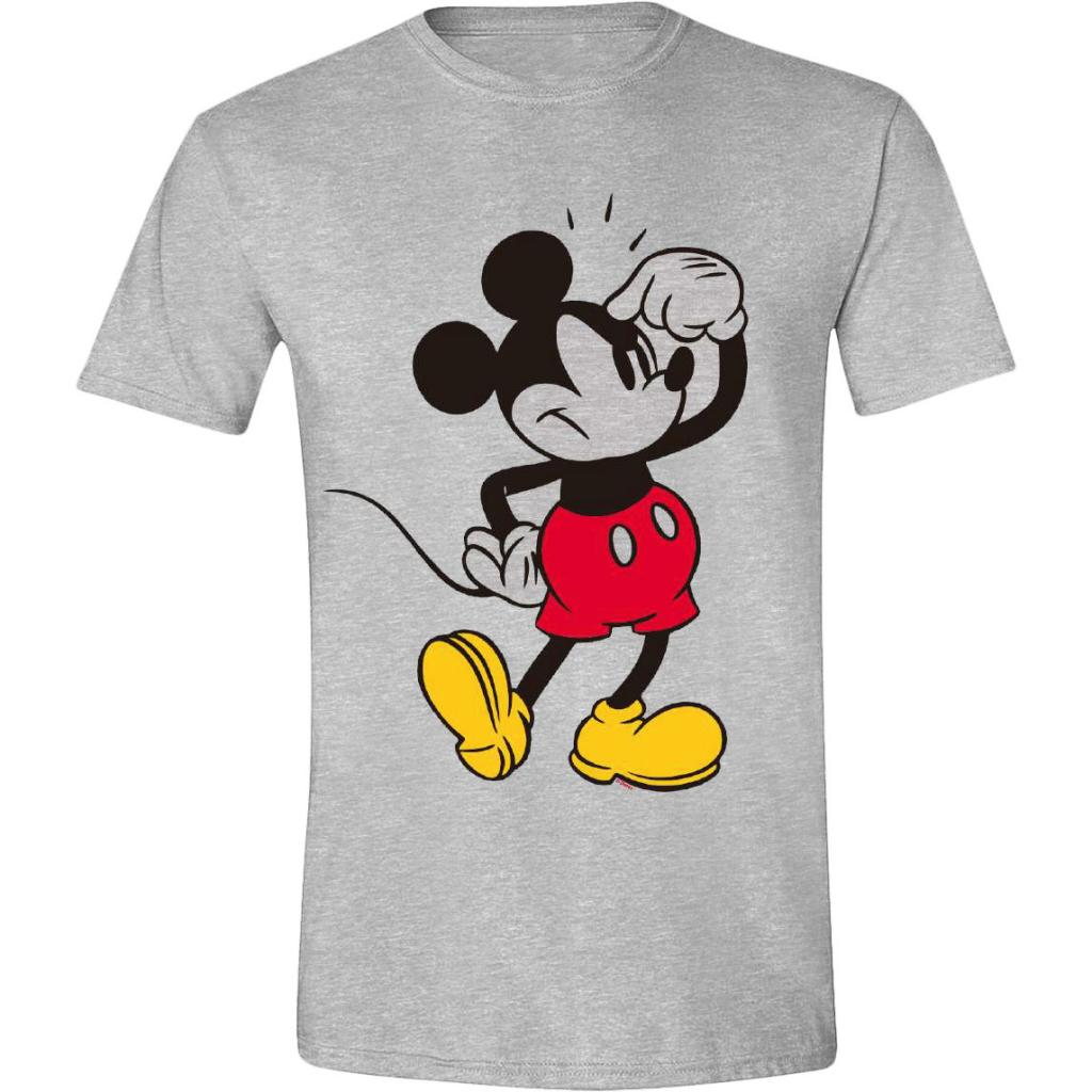 DISNEY - T-Shirt - Mickey Mouse Annoying Face (S)