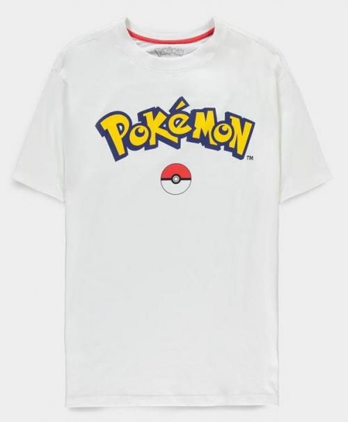 POKEMON - Logo - T-Shirt Homme (L)