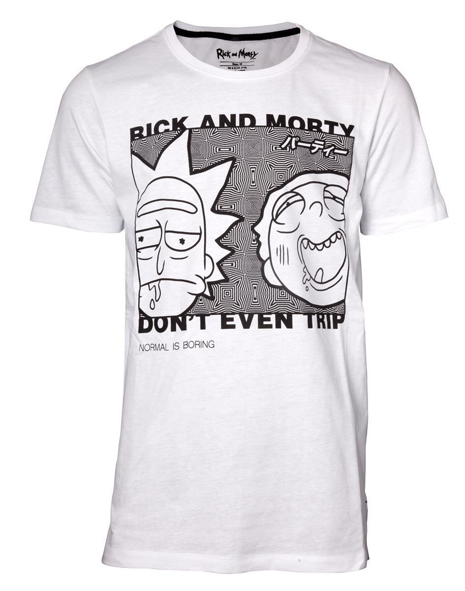 RICK & MORTY - Don't Even Trip - T-Shirt Homme (XXL)_1