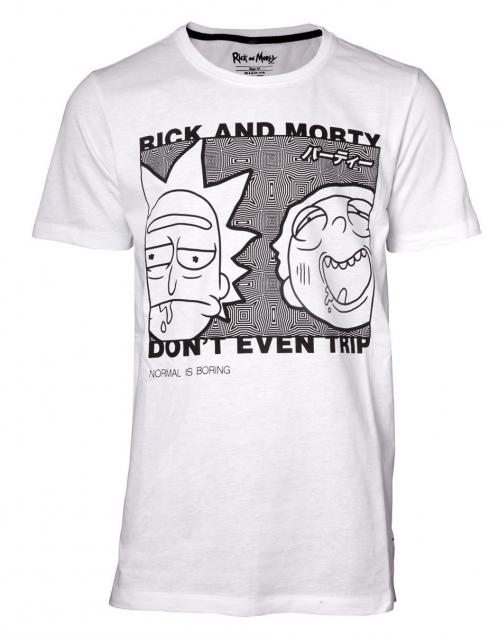 RICK & MORTY - Don't Even Trip - T-Shirt Homme (XL)