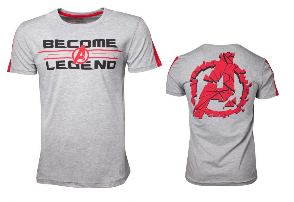 AVENGERS - T-Shirt Premium - Become a Legend (S)