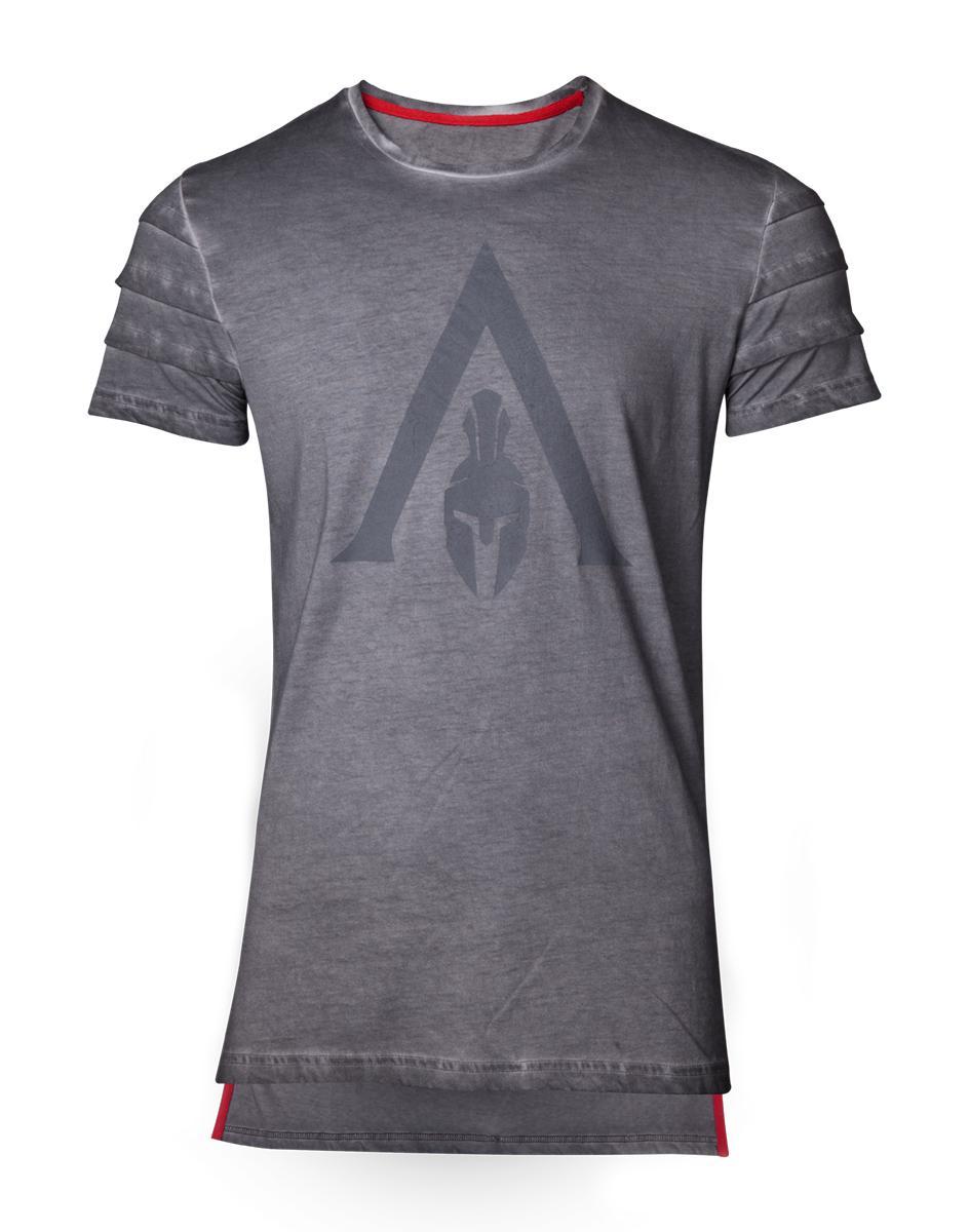 ASSASSIN'S CREED ODYSSEY - T-Shirt PREMIUM - Logo Oil Dye (S)