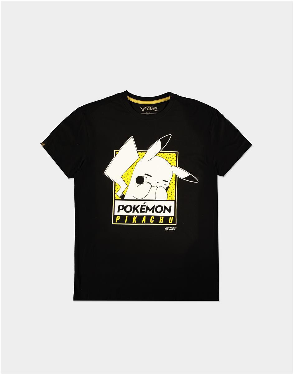 POKEMON - Embarassed Pika - T-Shirt Homme (S)_1