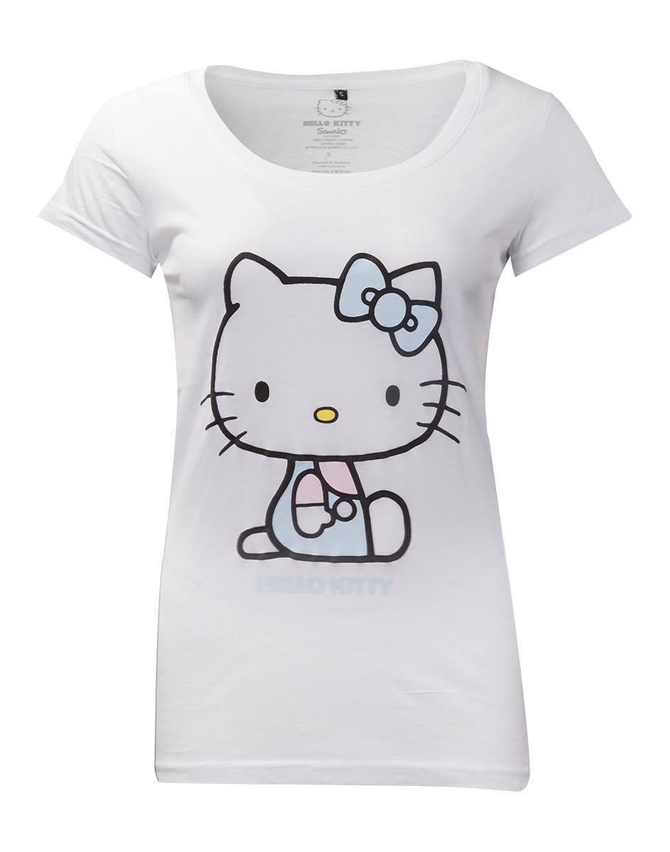 HELLO KITTY - Women's T-Shirt - Broderies (L)
