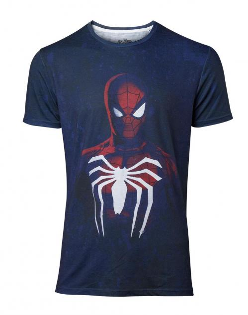 SPIDER-MAN - Acid Wash - T-Shirt Homme (S)
