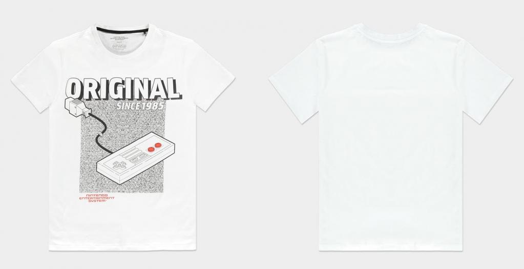 NINTENDO - NES the Original - T-Shirt Homme (S)_1