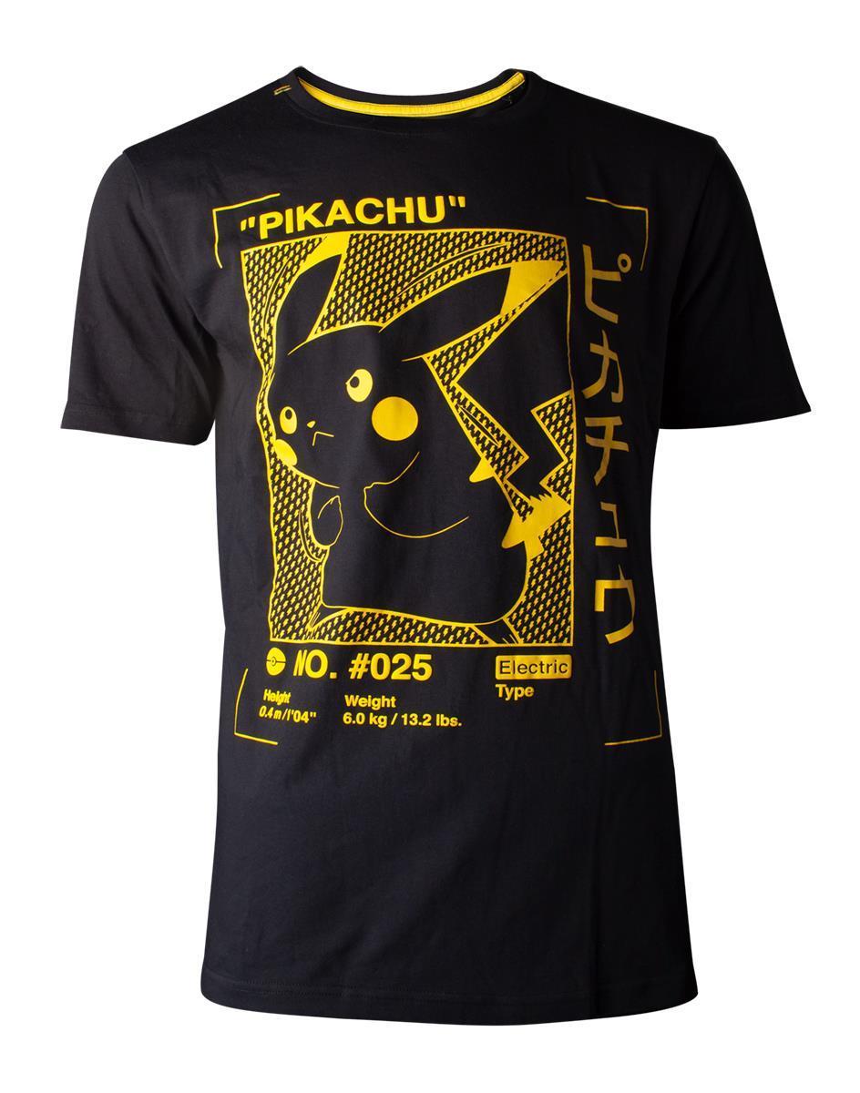 POKEMON - T-Shirt Premium - Pikachu Profile (S)