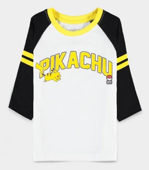 POKEMON - Running Pika - T-Shirt Fille (98/104)