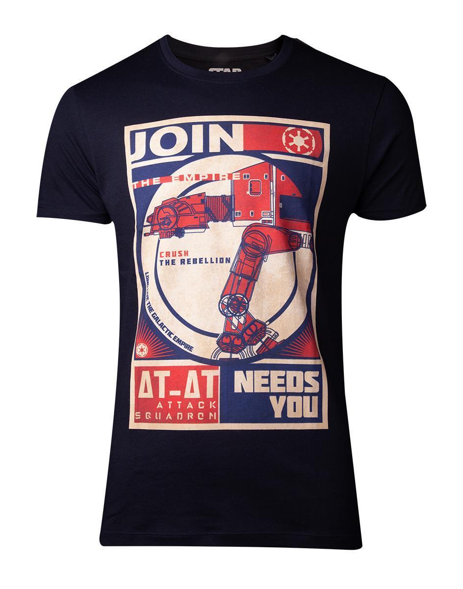 STAR WARS - T-Shirt Homme Constructivist Poster - (S)
