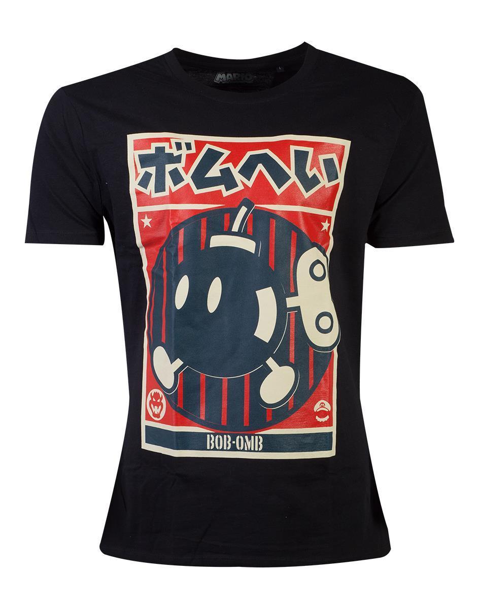 NINTENDO - T-Shirt - Propaganda Bob-Omb (S)