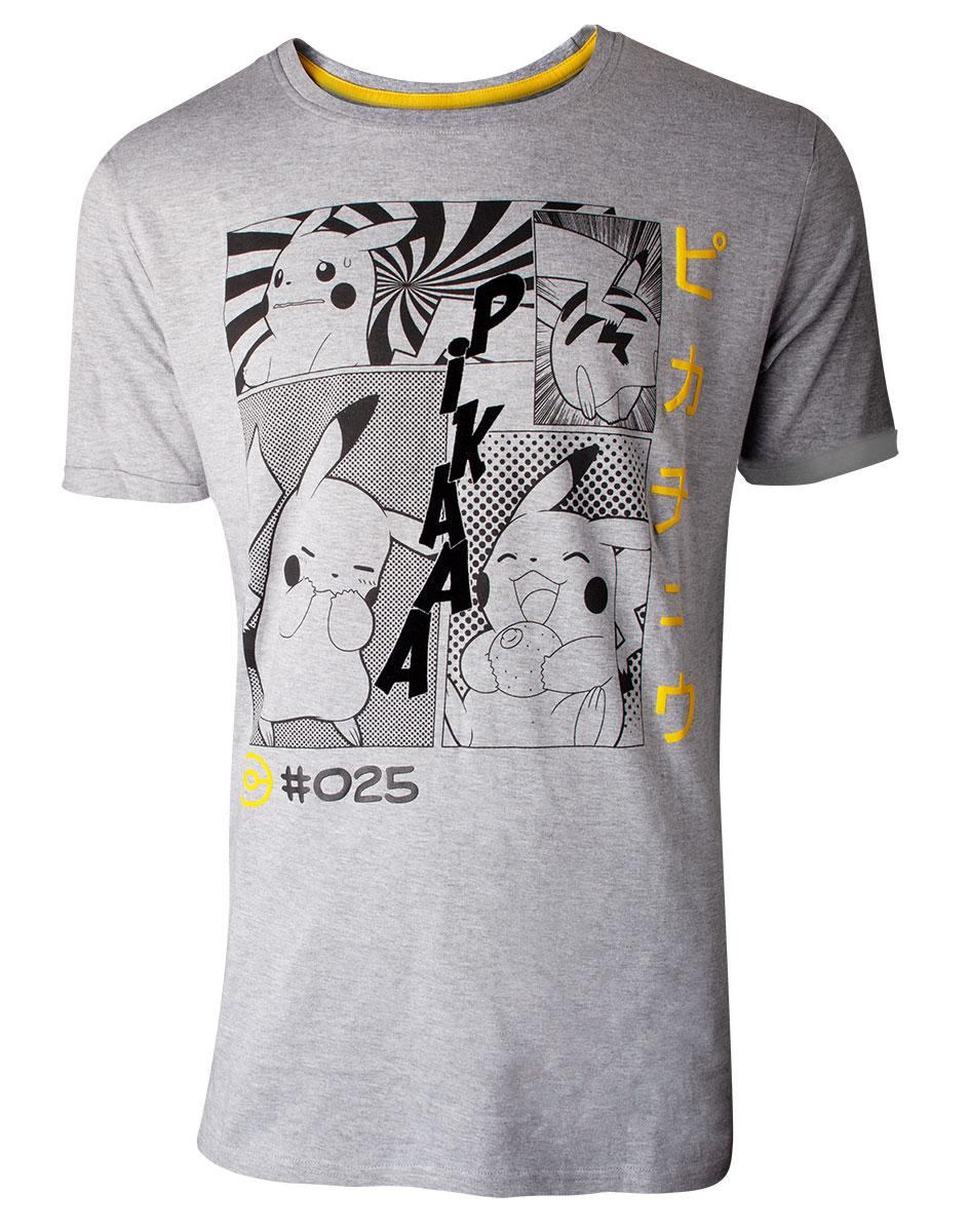 POKEMON - T-Shirt Premium - Manga Pikachu Profile (S)